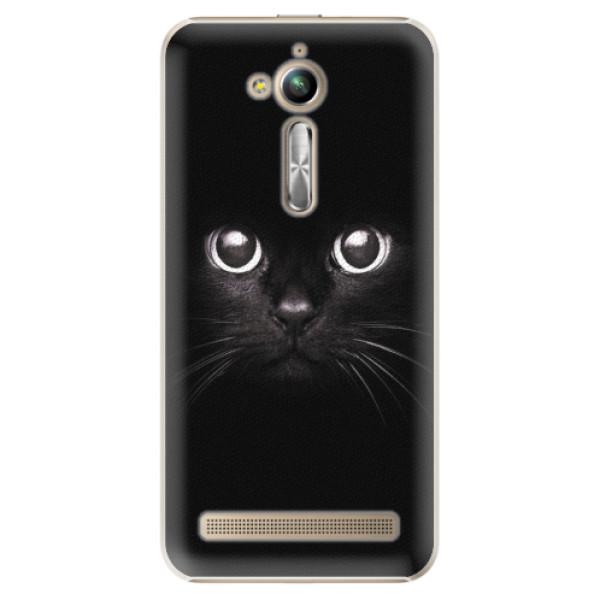 Plastové pouzdro iSaprio - Black Cat - Asus ZenFone Go ZB500KL