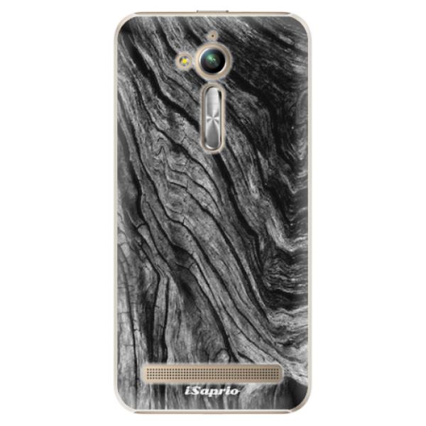 Plastové pouzdro iSaprio - Burned Wood - Asus ZenFone Go ZB500KL