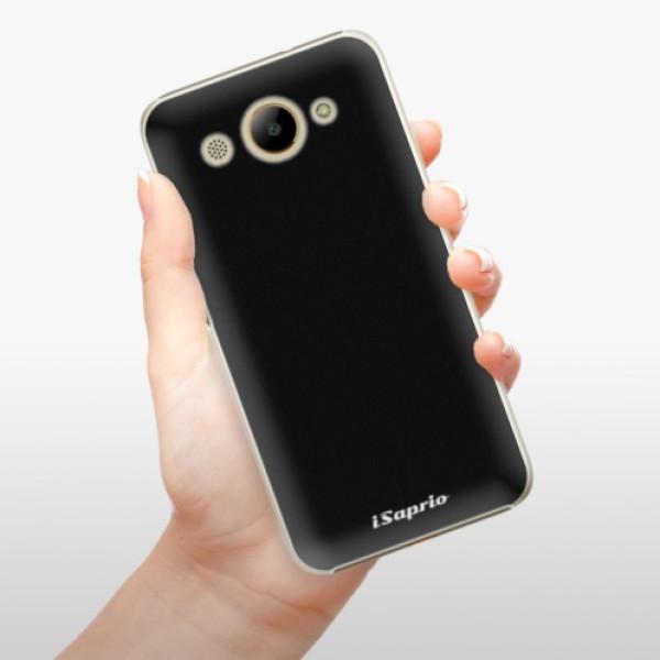 Plastové pouzdro iSaprio - 4Pure - černý - Huawei Y3 2017