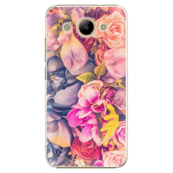 Plastové pouzdro iSaprio - Beauty Flowers - Huawei Y3 2017