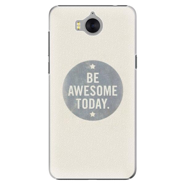 Plastové pouzdro iSaprio - Awesome 02 - Huawei Y5 2017 / Y6 2017