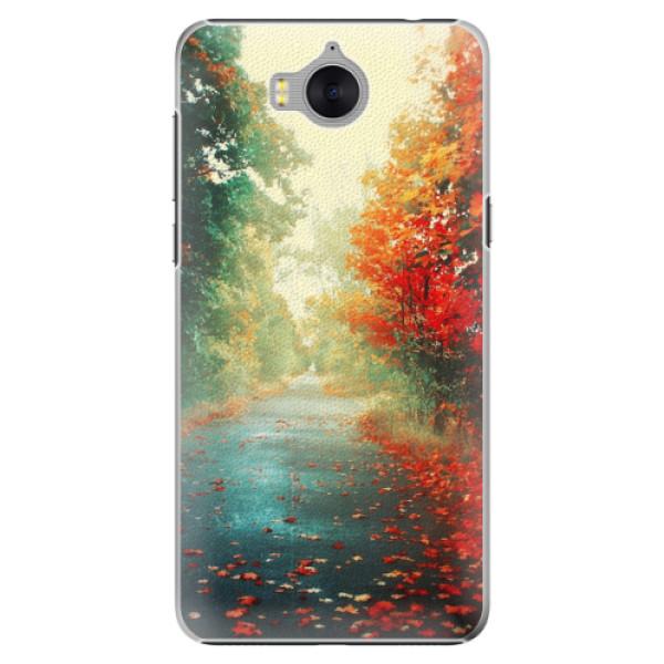 Plastové pouzdro iSaprio - Autumn 03 - Huawei Y5 2017 / Y6 2017