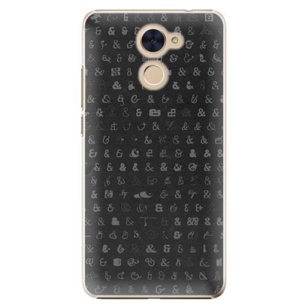 Plastové pouzdro iSaprio - Ampersand 01 - Huawei Y7 / Y7 Prime