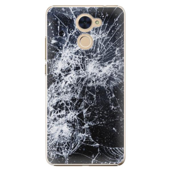 Plastové pouzdro iSaprio - Cracked - Huawei Y7 / Y7 Prime