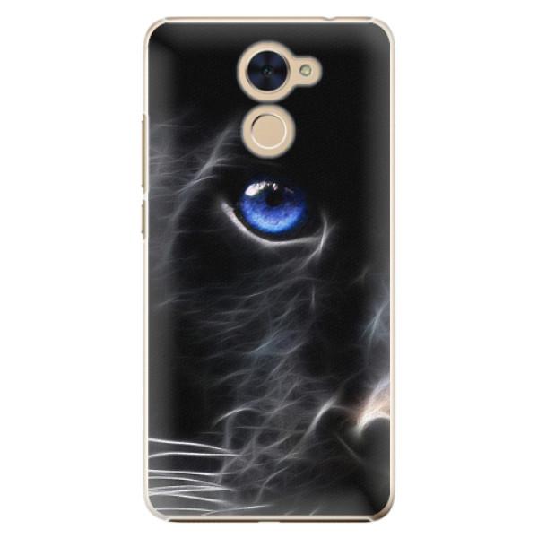 Plastové pouzdro iSaprio - Black Puma - Huawei Y7 / Y7 Prime