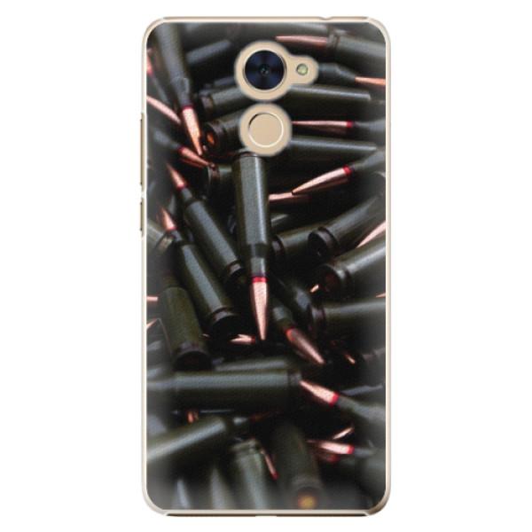 Plastové pouzdro iSaprio - Black Bullet - Huawei Y7 / Y7 Prime