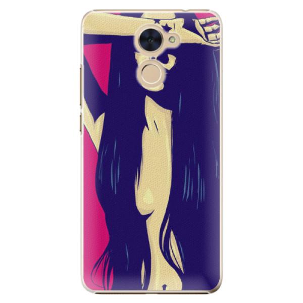 Plastové pouzdro iSaprio - Cartoon Girl - Huawei Y7 / Y7 Prime
