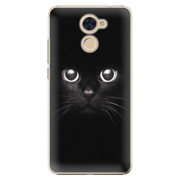 Plastové pouzdro iSaprio - Black Cat - Huawei Y7 / Y7 Prime