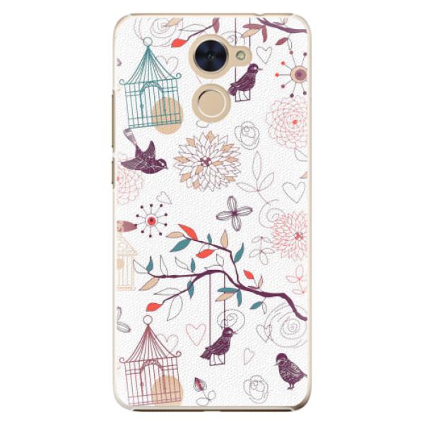 Plastové pouzdro iSaprio - Birds - Huawei Y7 / Y7 Prime