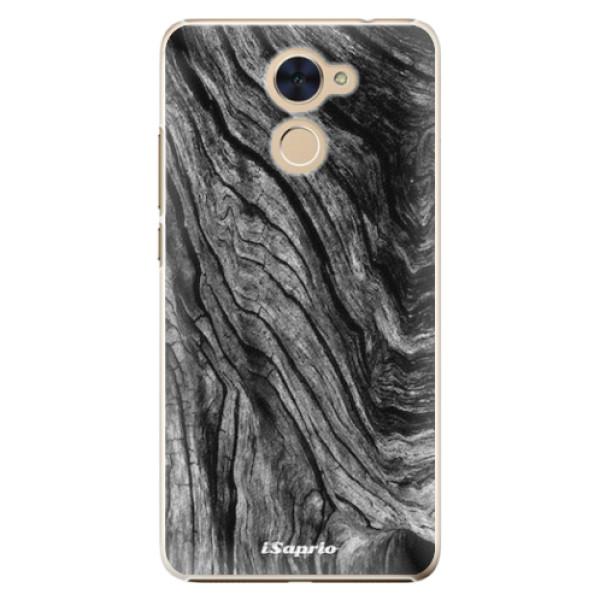 Plastové pouzdro iSaprio - Burned Wood - Huawei Y7 / Y7 Prime