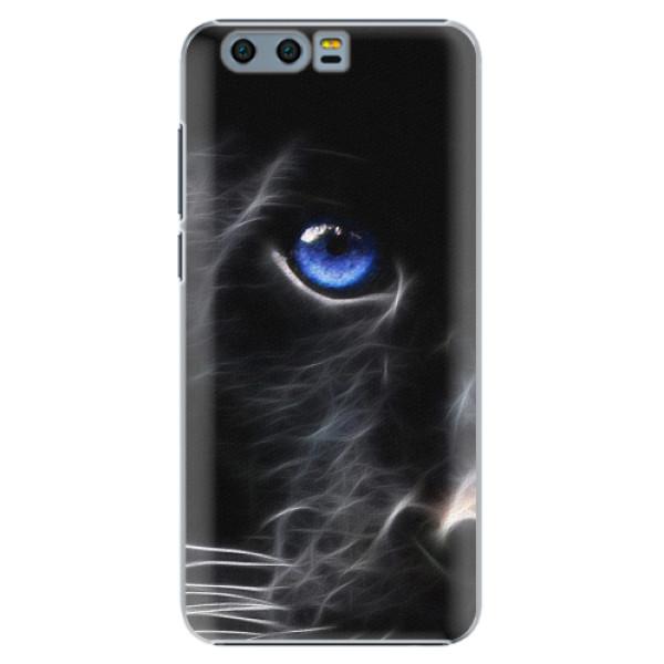 Plastové pouzdro iSaprio - Black Puma - Huawei Honor 9