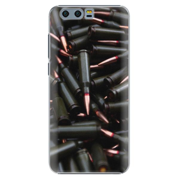 Plastové pouzdro iSaprio - Black Bullet - Huawei Honor 9