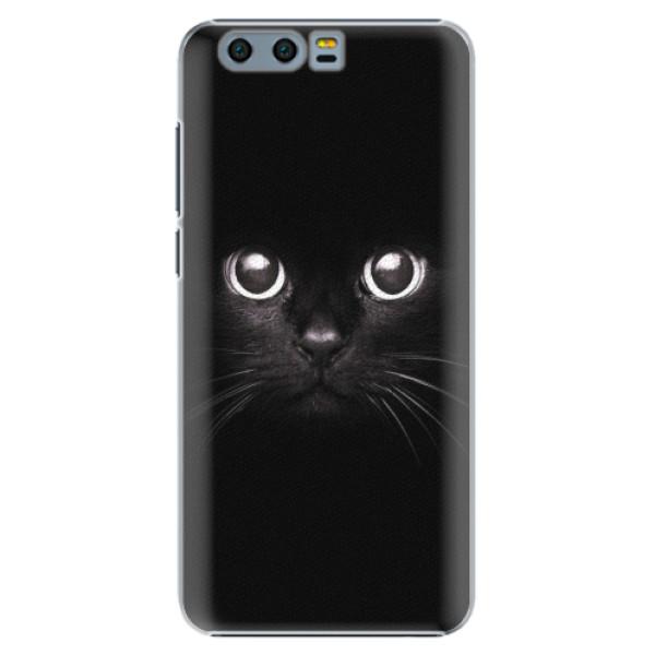 Plastové pouzdro iSaprio - Black Cat - Huawei Honor 9