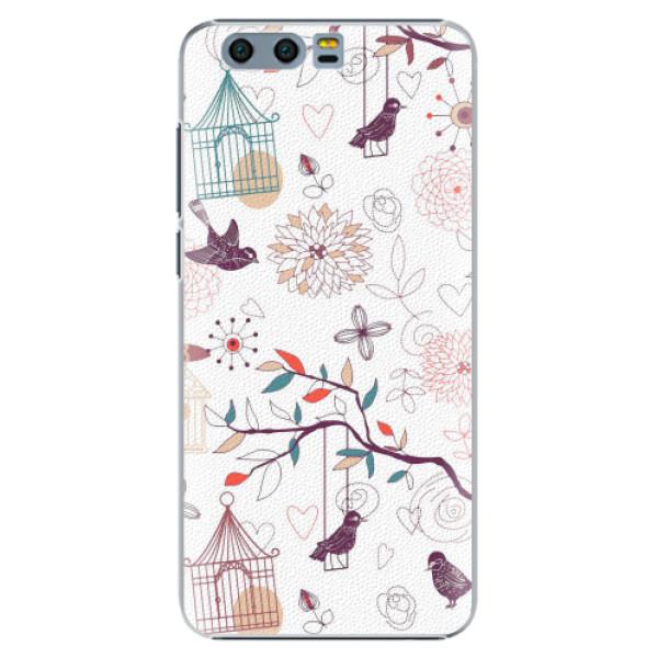 Plastové pouzdro iSaprio - Birds - Huawei Honor 9