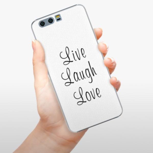 Plastové pouzdro iSaprio - Live Laugh Love - Huawei Honor 9