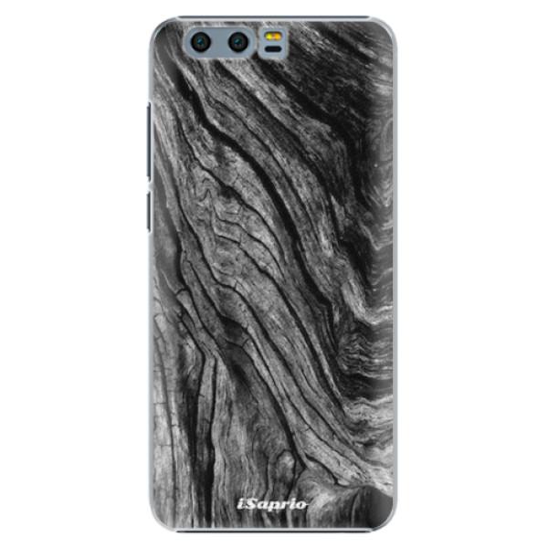 Plastové pouzdro iSaprio - Burned Wood - Huawei Honor 9