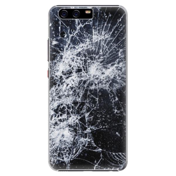 Plastové pouzdro iSaprio - Cracked - Huawei P10 Plus