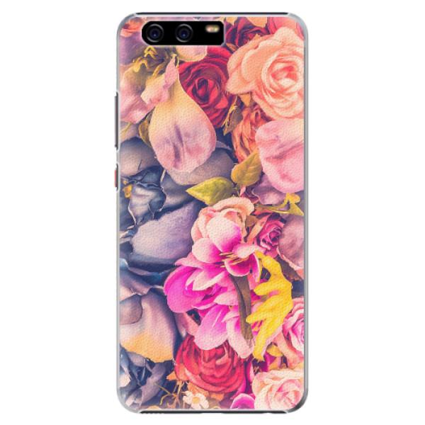 Plastové pouzdro iSaprio - Beauty Flowers - Huawei P10 Plus