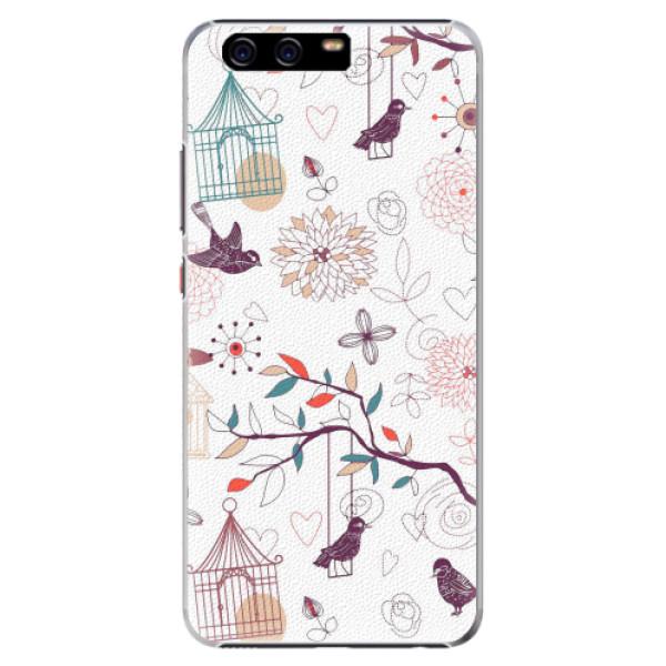 Plastové pouzdro iSaprio - Birds - Huawei P10 Plus
