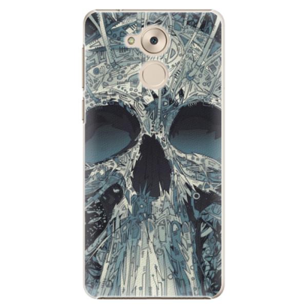 Plastové pouzdro iSaprio - Abstract Skull - Huawei Nova Smart