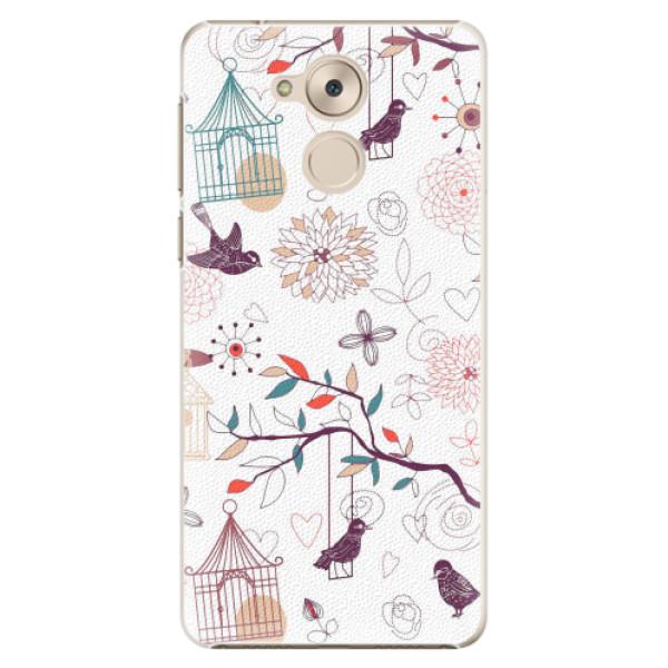 Plastové pouzdro iSaprio - Birds - Huawei Nova Smart