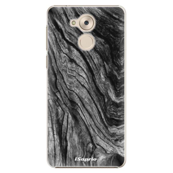 Plastové pouzdro iSaprio - Burned Wood - Huawei Nova Smart