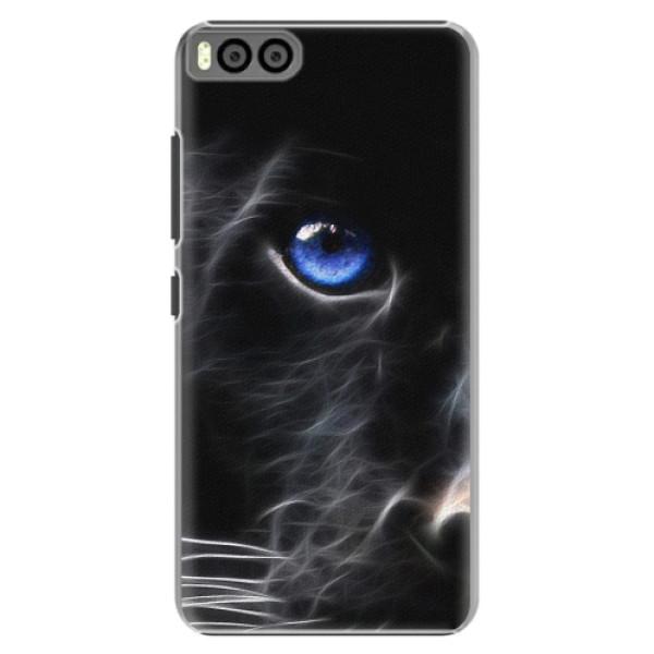 Plastové pouzdro iSaprio - Black Puma - Xiaomi Mi6