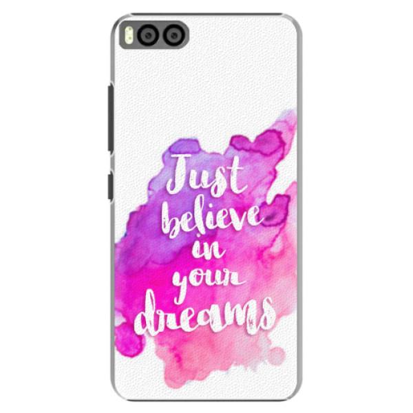 Plastové pouzdro iSaprio - Believe - Xiaomi Mi6