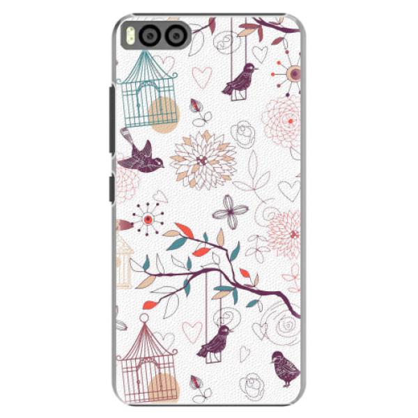 Plastové pouzdro iSaprio - Birds - Xiaomi Mi6
