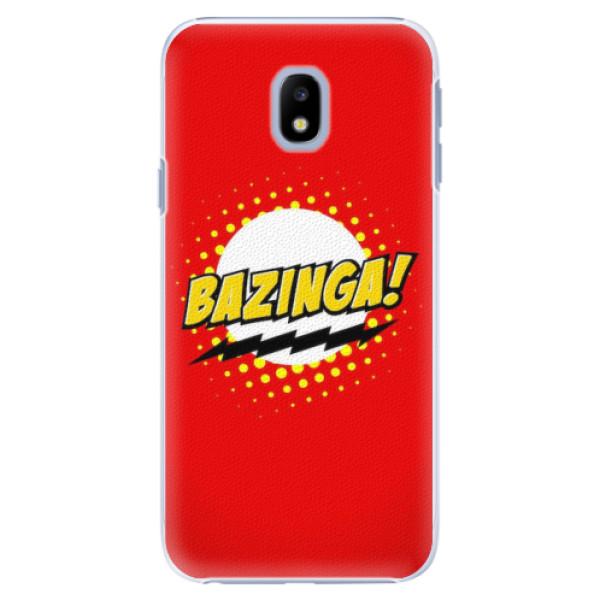 Plastové pouzdro iSaprio - Bazinga 01 - Samsung Galaxy J3 2017
