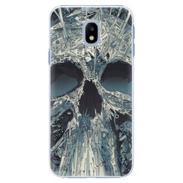 Plastové pouzdro iSaprio - Abstract Skull - Samsung Galaxy J3 2017