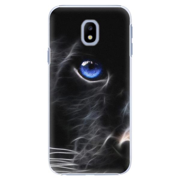 Plastové pouzdro iSaprio - Black Puma - Samsung Galaxy J3 2017