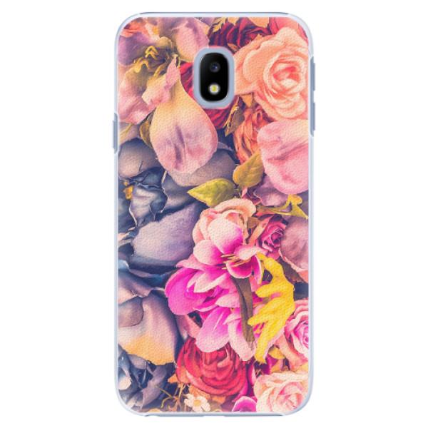 Plastové pouzdro iSaprio - Beauty Flowers - Samsung Galaxy J3 2017