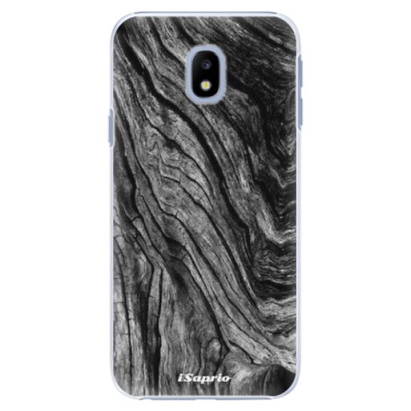 Plastové pouzdro iSaprio - Burned Wood - Samsung Galaxy J3 2017