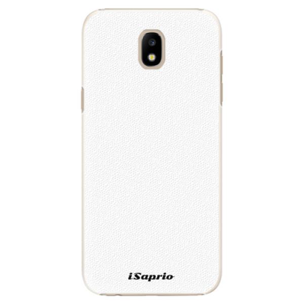 Plastové pouzdro iSaprio - 4Pure - bílý - Samsung Galaxy J5 2017