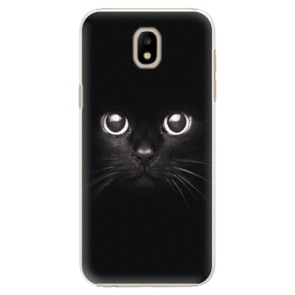 Plastové pouzdro iSaprio - Black Cat - Samsung Galaxy J5 2017