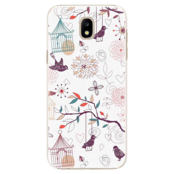 Plastové pouzdro iSaprio - Birds - Samsung Galaxy J5 2017