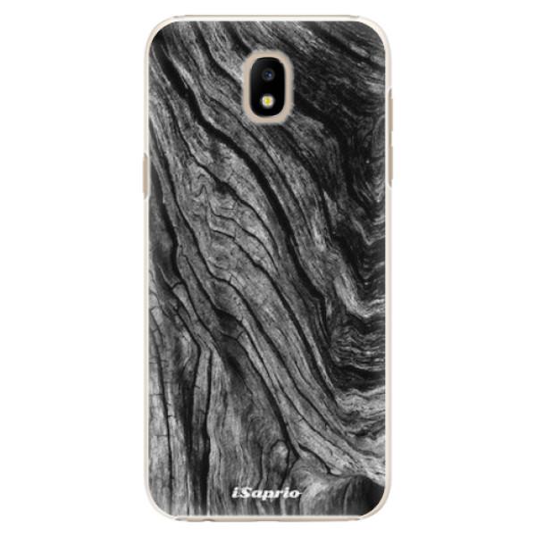 Plastové pouzdro iSaprio - Burned Wood - Samsung Galaxy J5 2017