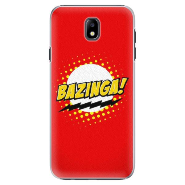 Plastové pouzdro iSaprio - Bazinga 01 - Samsung Galaxy J7 2017