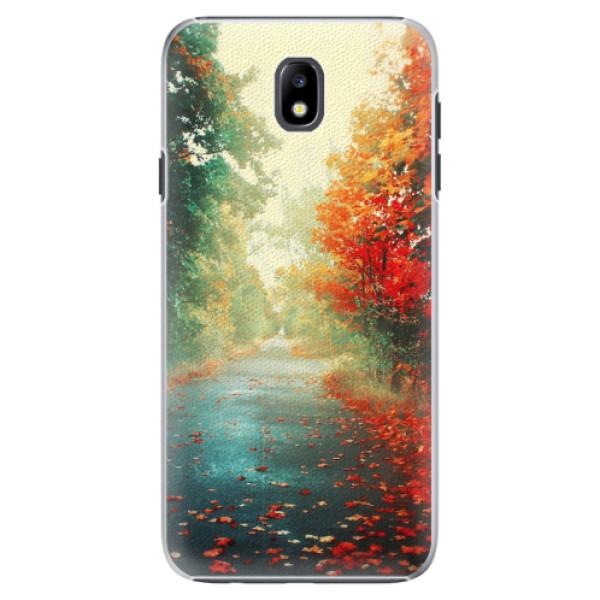 Plastové pouzdro iSaprio - Autumn 03 - Samsung Galaxy J7 2017
