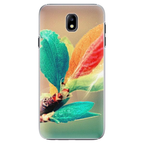 Plastové pouzdro iSaprio - Autumn 02 - Samsung Galaxy J7 2017