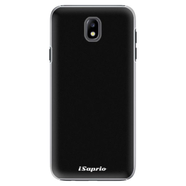 Plastové pouzdro iSaprio - 4Pure - černý - Samsung Galaxy J7 2017