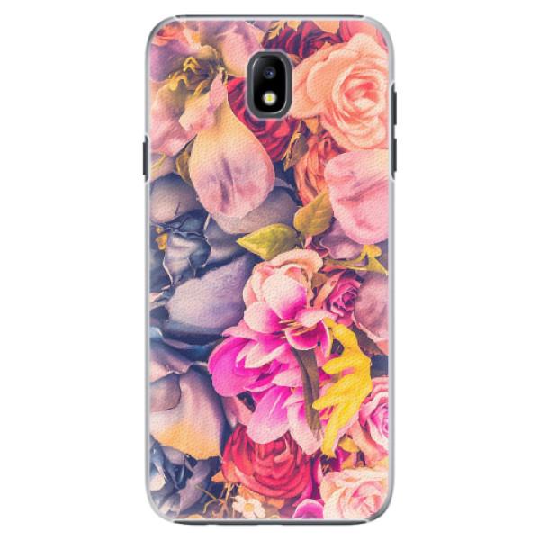 Plastové pouzdro iSaprio - Beauty Flowers - Samsung Galaxy J7 2017