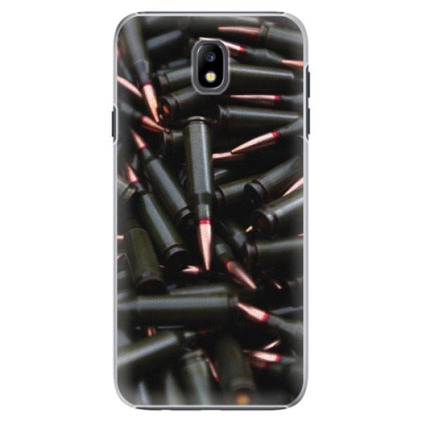 Plastové pouzdro iSaprio - Black Bullet - Samsung Galaxy J7 2017