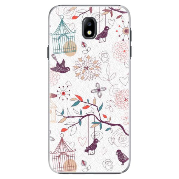 Plastové pouzdro iSaprio - Birds - Samsung Galaxy J7 2017