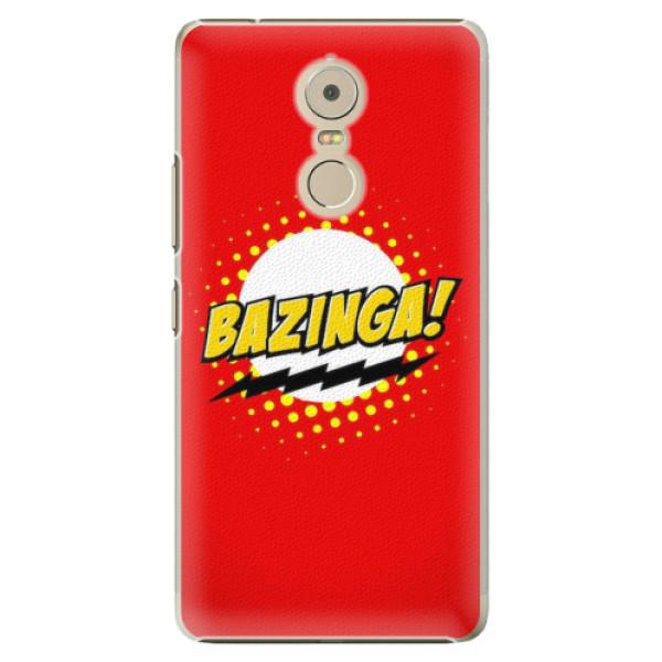 Plastové pouzdro iSaprio - Bazinga 01 - Lenovo K6 Note