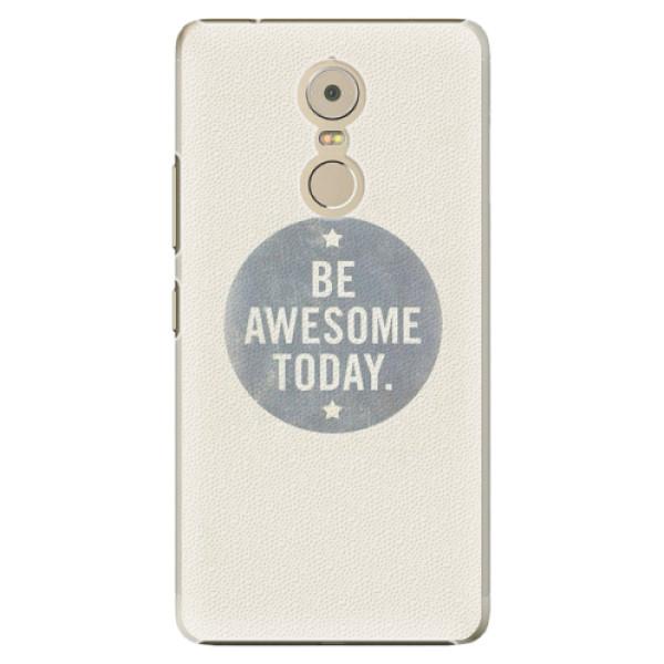 Plastové pouzdro iSaprio - Awesome 02 - Lenovo K6 Note