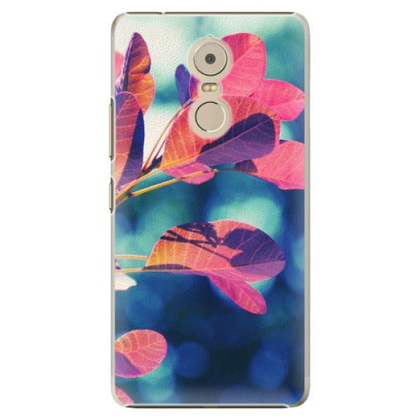 Plastové pouzdro iSaprio - Autumn 01 - Lenovo K6 Note