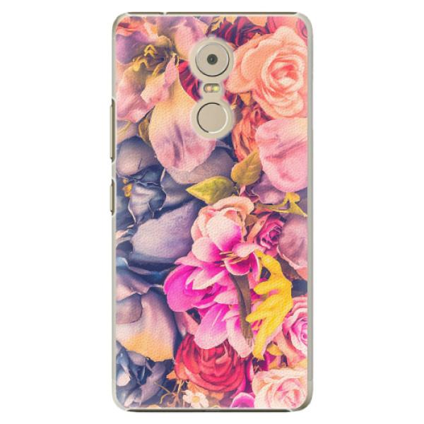 Plastové pouzdro iSaprio - Beauty Flowers - Lenovo K6 Note