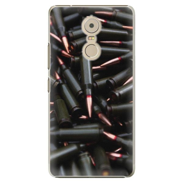 Plastové pouzdro iSaprio - Black Bullet - Lenovo K6 Note